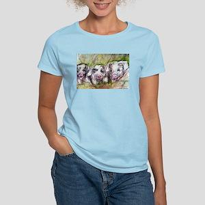 Three Little Pigs, Cute, Women's Light T-Shirt