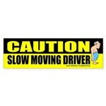 CAUTION Slow moving driver
