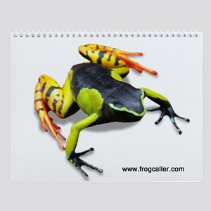 13 images-- Wild World of FROGS Wall Calendar