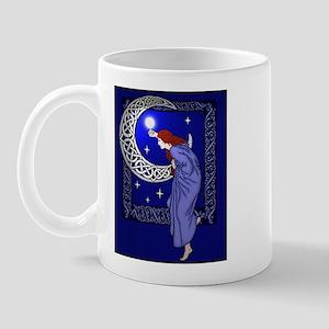 Celtic Moon Woman Mug