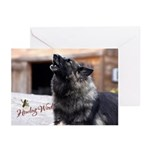 Howling Winds Greeting Cards (Pk of 10) :2010