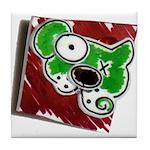 Dog Pin Tile Coaster
