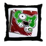 Dog Pin Throw Pillow