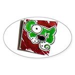 Dog Pin Sticker (Oval 50 pk)