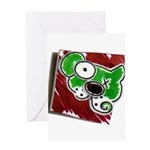 Dog Pin Greeting Card