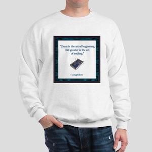 Longfellow Quote Sweatshirt