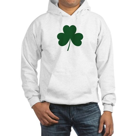 Irish Shamrock Hooded Sweatshirt