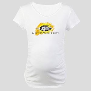 DJ Jeff Cavanaugh & Dmitry Maternity T-Shirt