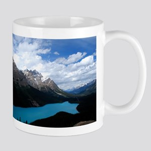 Brilliant Blue Lake Mug