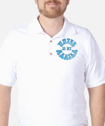 Water Is My Mantra Golf Shirt