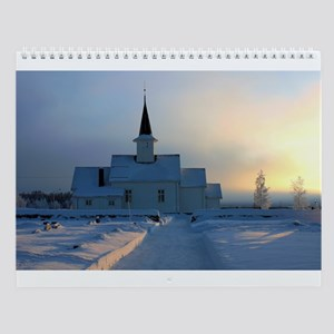 Scenic Places and Nature Wall Calendar