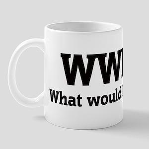What would Debbie do? Mug