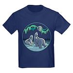 Arctic Art Kids Dark T-Shirt Polar Bear Shirt
