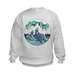 Arctic Art Kids Sweatshirt
