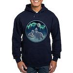 Arctic Art Hoodie dark Polar Bear Hoodies