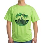 Arctic Art Green T-Shirt