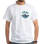 Polar Bear T-shirt Kid's Arctic Art White T-Shirt