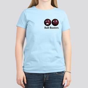 Ball Busters Logo 11 Women's Light T-Shirt Design
