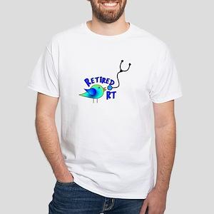 Respiratory Therapy 9 White T-Shirt