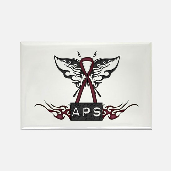 APS Tribal Rectangle Magnet
