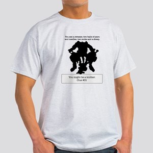 Ink Blot You Might Be a Knitter Final T-Shirt