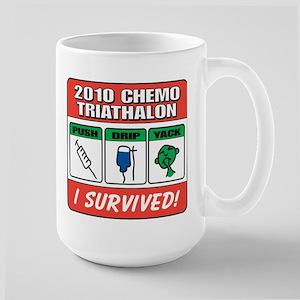 Chemo Triathalon Large Mug