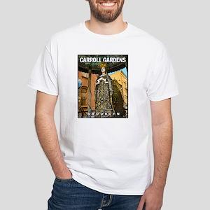 Carroll Gardens Mary White T-Shirt