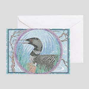 Loon Greeting Card