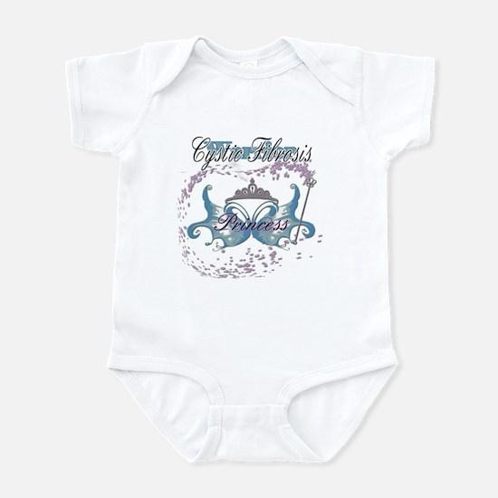 Princess Warrior Blue Infant Bodysuit