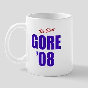 Re-Elect GORE '08 - Mug
