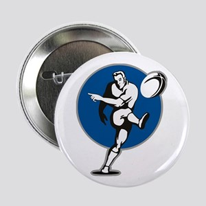 """Rugby 2011 2.25"""" Button"""