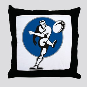 Rugby 2011 Throw Pillow