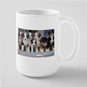 7 Hearts of Love Large Mug
