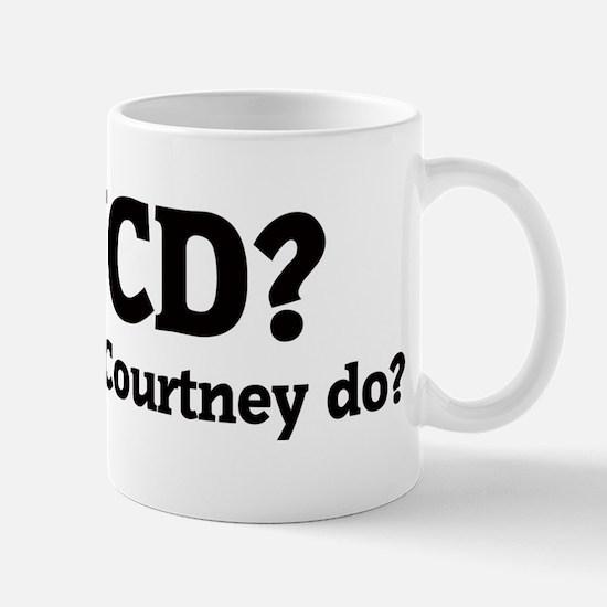 What would Courtney do? Mug