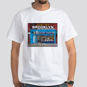 Cobble Hill-College Bakery White T-Shirt