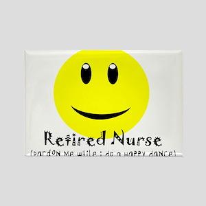 Retired Nurse Rectangle Magnet