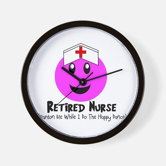 Retired Nurse Wall Clock