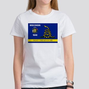 Dont Tread on Me Wisconsin Women's T-Shirt