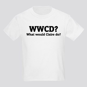 What would Claire do? Kids T-Shirt