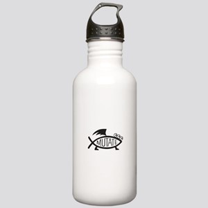Mutate Fish Stainless Water Bottle 1.0L