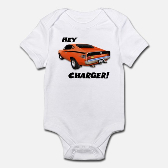 Aussie Charger - Hey, Charger! Infant Bodysuit