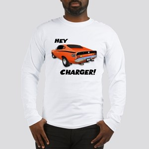 Aussie Charger - Hey, Charger! Long Sleeve T-Shirt