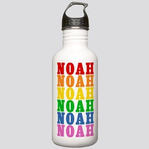 Rainbow Name Stainless Water Bottle 1.0L