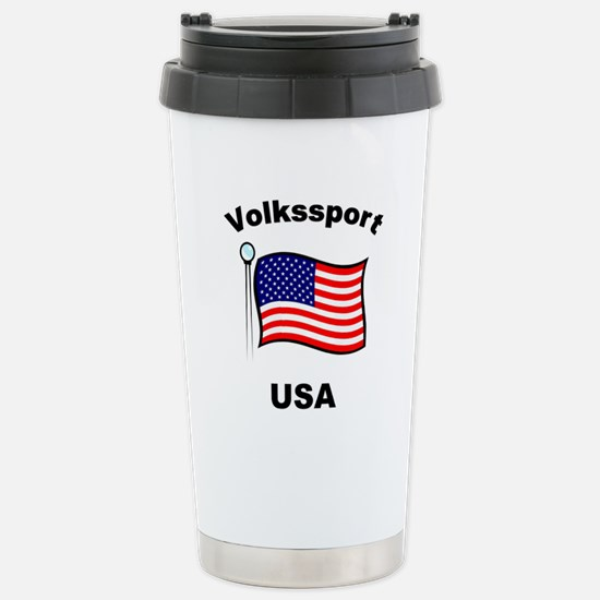 Volkssport USA Stainless Steel Travel Mug