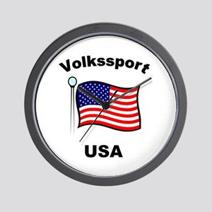 Volkssport USA Wall Clock