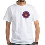Freemasons. A Band of Brothers White T-Shirt