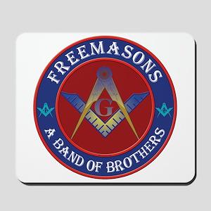 Freemasons. A Band of Brothers Mousepad