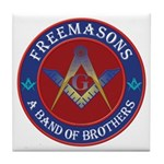 Freemasons. A Band of Brothers Tile Coaster