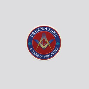 Freemasons. A Band of Brothers Mini Button