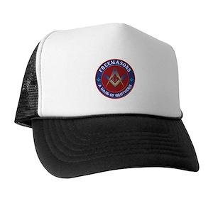 Masonic Trucker Hats - CafePress 67d34829751d